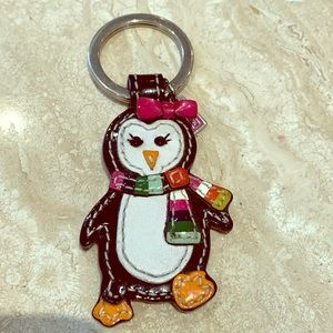 RARE COACH penguin key chain